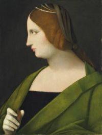 Woman profile  Vincenzo Catena (c. 1470 – 1531)