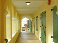 (19) Open, airy walkways in  Christiansted, St. Croix, 2014