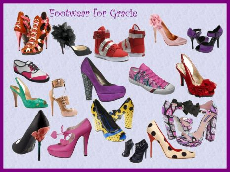 Footwear for Gracie