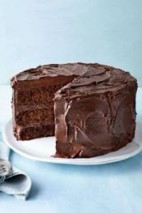 Chocolate Mayonnaise Cake, Southern Living