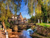 The Bridge Inn. Hampshire.