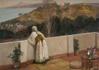 "Sir John Lavery, ""Evening, Tangiers"""