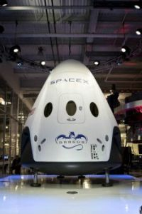 SpaceX Dragon V2 On Stage