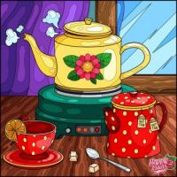 A Cheery Cup of Tea