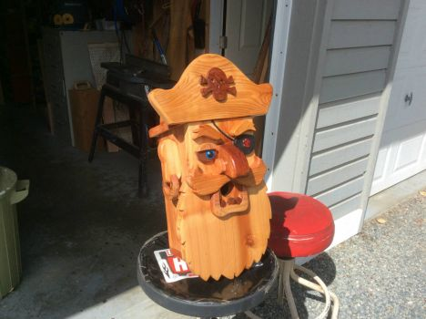 Pirate birdhouse