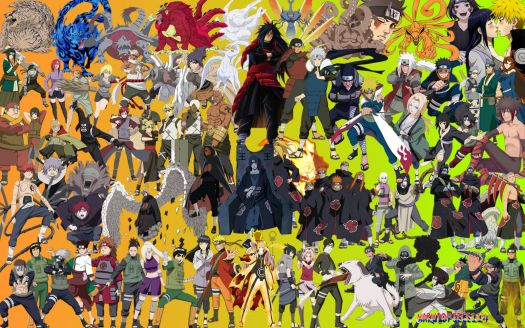 205890 all naruto characters 308 pieces jigsaw puzzle