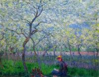 Claude Monet - An Orchard in Spring, 1886 (Mar17P86)