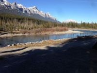 Bow River, Canmore.