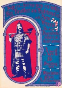 Vintage poster Stockton Civic Auditorium  1967