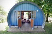Cabin Habit Nissen Hut inspired cabin