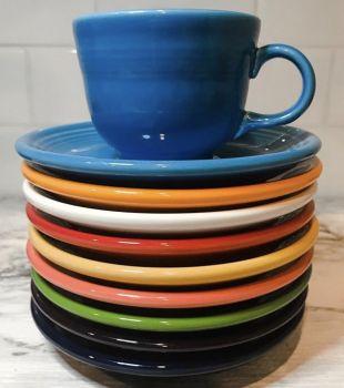 Fiesta blue cup