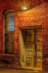 Old Doorway in Downtown Clinton, TN