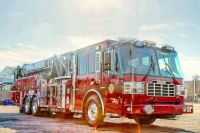 Oyster Bay Fire Co. No. 1 Ferrara MM Tower Ladder