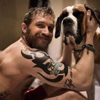 Tom Hardy and a best friend
