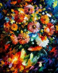 Leonid Afremov Bouquet