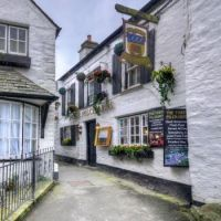 Three Pilchards Inn, Polperro Corwall