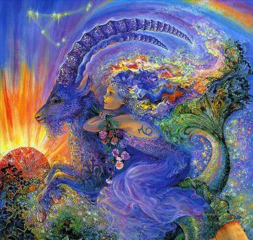 Capricorn Fantasy - Artist Josephine Wall