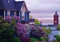 Duluth, Minnesota, spring view