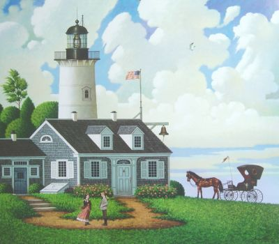 Lighthouse by C. Wysocki