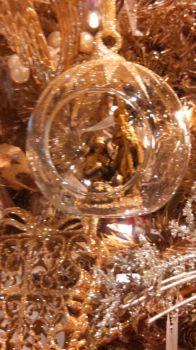 Crystal and Gold at Christmas