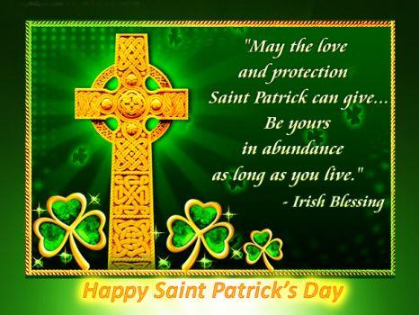 Happy Saint Patrick's Day 2016