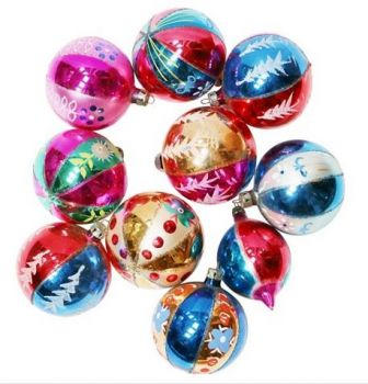 Vintage Christmas Baubles 2