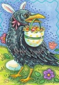 THE EASTER CROW IS COMING!