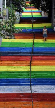 Stairs of Colors