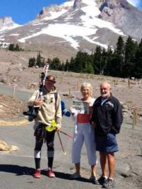 August at mount hood