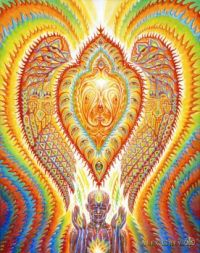 Alex Grey: Seraphic Transport Docking on the Third Eye