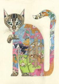Coloured cat