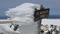 Windblown Ice! - Mt. Washington, New Hampshire, USA