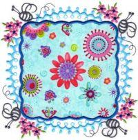 Colorful Quilt Square