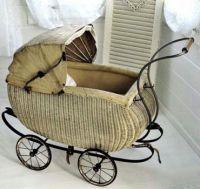 antique stroller