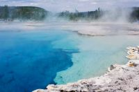 Sapphire Pool, Biscuit Basin, Yellowstone National Park