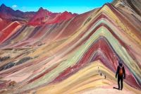 Rainbow Mountain, Peru, trekking tour
