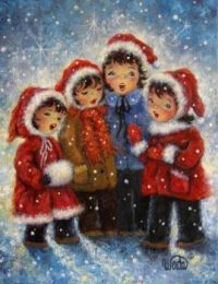 Young Carolers