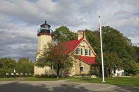 McGolpin Point Lighthouse -  on Lake Michigan