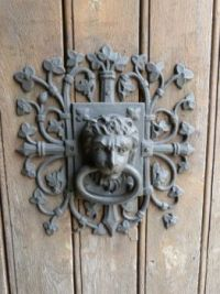 Interesting door knocker