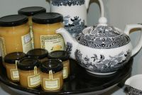 Teapots and Lemony Honey-ish Jars
