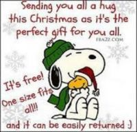 Sending out (HUGS) to ALL!