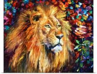 Lion-of-Zion,by Leonid Afremov