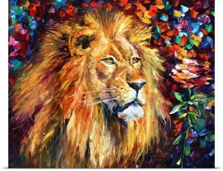 Lion-of-Zion,by Leonid Afremov