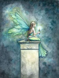A Light in the Dark fairy-
