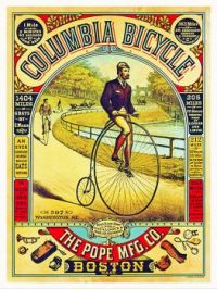 Vintage ad - Columbia Bicycle