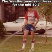 dress for the 80's