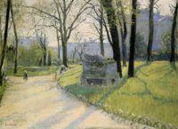 The Park Monceau - 1878