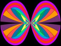 Bright Bowtiefly (Larger)
