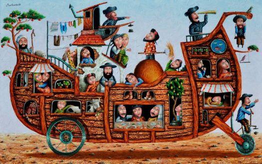 Folk Art Arc, Artist Zurab Martiashvili