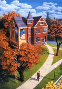 Tree House in Autumn